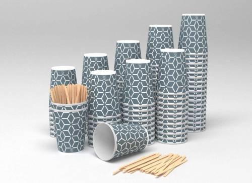 vaso ecologico de cartón