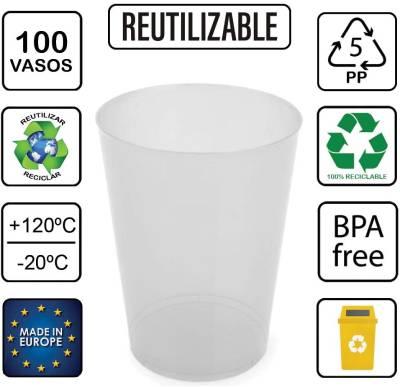 vaso ecologico desechable